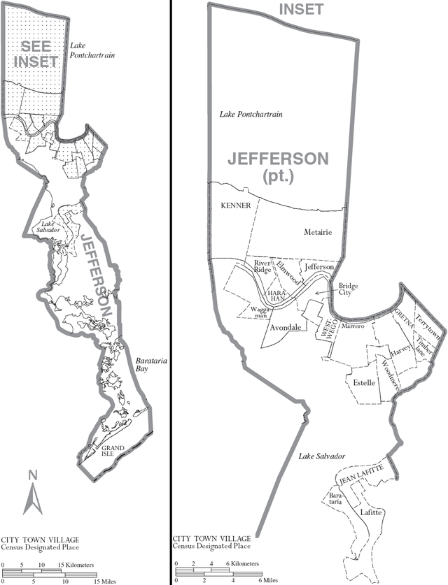 Jefferson Parish Louisiana