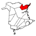 Map of New Brunswick highlighting Gloucester County 2.png