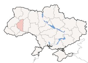 Bilozirka, Ternopil Oblast - Ternopil Oblast is located in Ukraine.