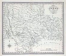 Map Of Texas 1835.Republic Of Texas Wikipedia