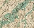 Mapa katastralna wsi Wola Piotrowa 1852.JPG