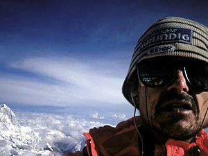 Marc Batard - Great ascent in less than 24 hours atop Everest