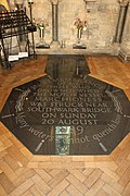 Memorial in Southwark Cathedral