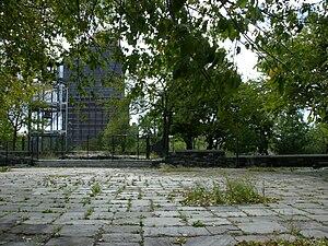 Marcus Garvey Park in Harlem, Manhattan, NYC, ...