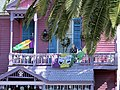 Mardi Gras decorations in Galveston Texas 2015 07.jpg