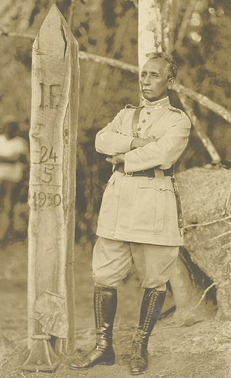 Cândido Rondon - Marshal Rondon in 1930