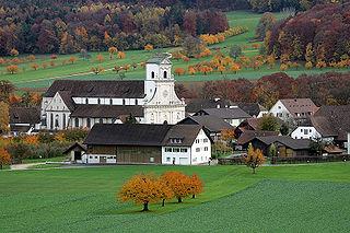 Metzerlen-Mariastein Place in Solothurn, Switzerland