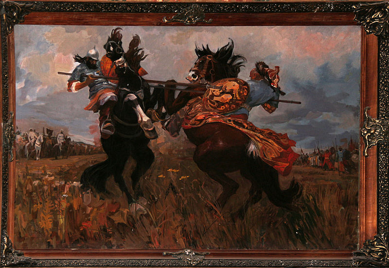 фото битва челубея мадиной