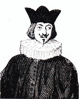 Asturian literature - Idealized portrait of Antón de Marirreguera (17th century)