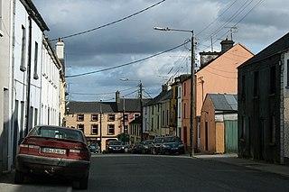 Granard Town in Leinster, Ireland