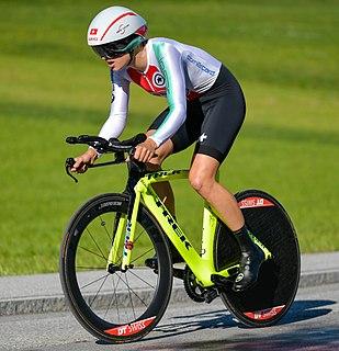 Marlen Reusser Swiss cyclist