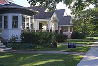 Marquette Bungalows Historic District, 1400 block of Spaight St.jpg