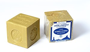 Marseille soap - Marseille soap in blocks of 600 g