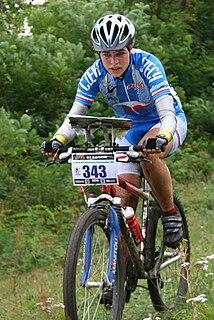 Martina Tichovská Czech mountain bike orienteer
