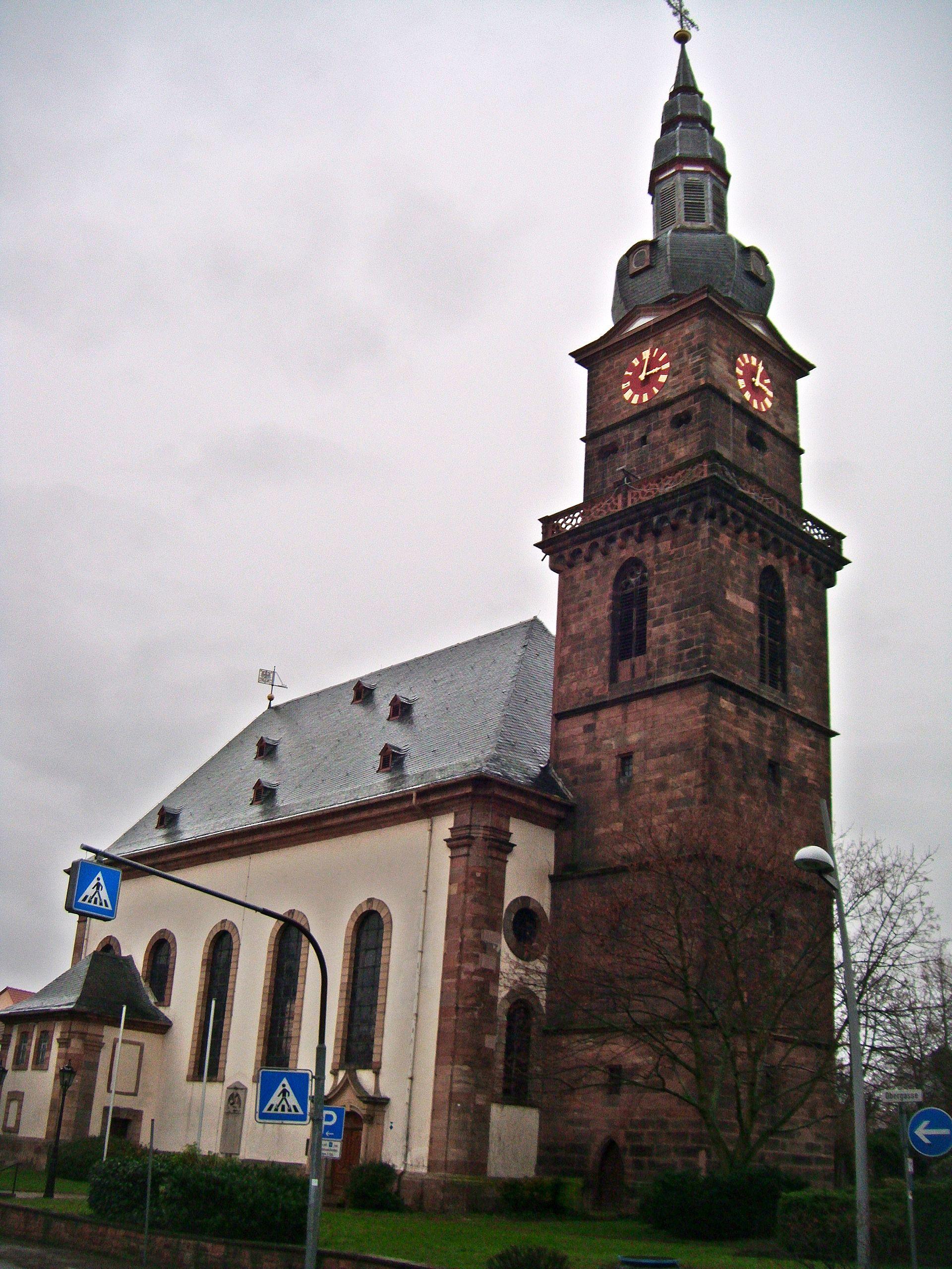 Martinskirche (Grünstadt) – Wikipedia
