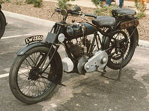 Martinsyde - Martinsyde motorcycle, 1922, model C, 498 cc