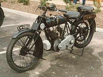 Martinsyde - Martinsyde motorcycle, 1922, model C, 498 cc