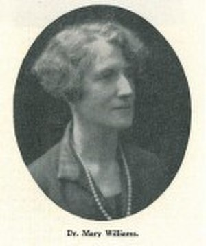 Mary Williams (professor) - Image: Mary Williams