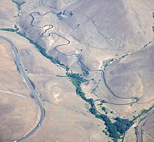 Maryhill Loop Road from air.jpg