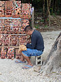 Mask Carving at Chichen Itza (8265011370).jpg