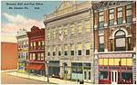 Masonic Hall and post office, Mt. Carmel, Pa (79606).jpg