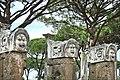 Masques décorant le théâtre (Ostia Antica) (5900773911).jpg