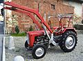 Massey Ferguson with front end loader.JPG