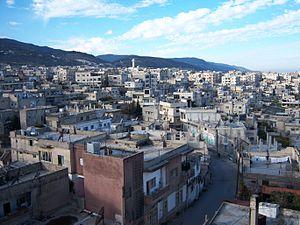 Masyaf - A view of Masyaf, 2008