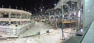 Mecca crane collapse - Construction at the Masjid al-Haram.