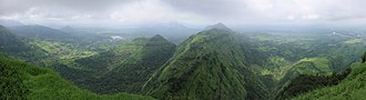 Monsoon - Western Ghats on August 28 in rainy season, 2010