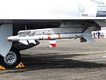 Matra R550 Loaded on Pylon of Mirage 2000-5EI 2046 20120811.jpg