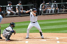 696683d1f3183 batting for the Colorado Rockies in 2008