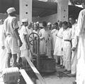 Maulana Abdul Kalam Azad visits Vignam kala Bhavan, Baurala.jpg