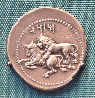 Mazaeus - Coin of Mazaeus (Tarsos, Cilicia).