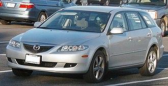 Station wagon - 2004 Mazda 6