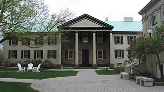 Washington & Jefferson College - McMillan Hall, built in 1793, is listed on the National Register of Historic Places.