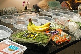 Meal preparation - Advance meal preparation