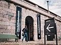 Medeltidsmuseets entré på Strömparterren, Norrbro, Stockholm.jpg