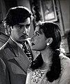 Meena Kumari with Shammi Kapoor in Mem Sahib.jpg