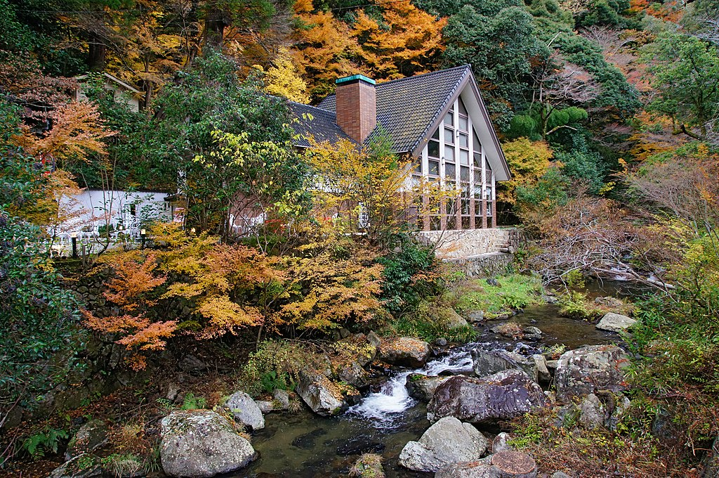 Meiji no Mori Minoh Quasi-National Park Minoh Osaka pref Japan26n