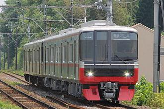 Meitetsu 3150 series - 2015 batch set 3168, June 2015