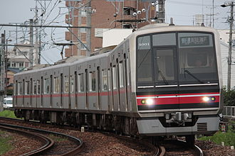 Meitetsu 4000 series - 4000 series on the Seto Line, July 2009