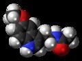 Melatonin molecule spacefill.png