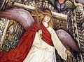 Melozzo da forlì, angeli coi simboli della passione e profeti, 1477 ca., croce 02.jpg