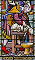 Melton Mowbray, St Mary's church, window detail (44720641915).jpg