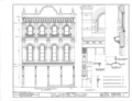 Merced Theatre, 420-422 North Main Street, Los Angeles, Los Angeles County, CA HABS CAL,19-LOSAN,8- (sheet 2 of 3).png