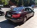 Mercedes Classe E Swiss diplomatic plate (Consul of Algeria) (29237689518).jpg