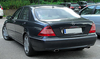 Mercedes S 600 L (V220) Facelift rear 20100717.jpg