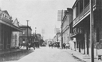 Merchant Street Historic District - Image: Merchant Street, Honolulu in early 1890s