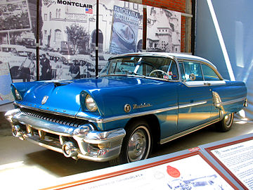 1956 Mercury Montclair hardtop Mercury Montclair 1956 (15480211331).jpg
